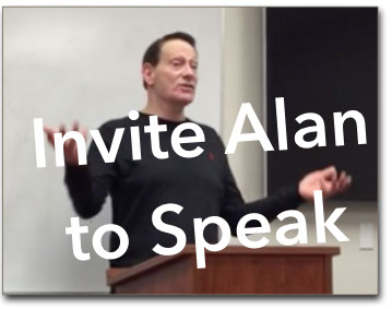 Image link to form used to invite Alan S Charles to speak